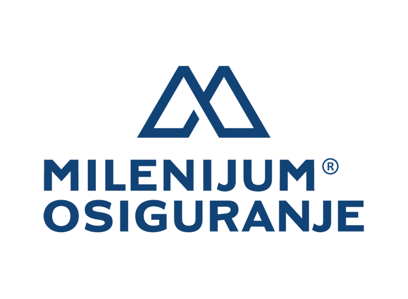 Резултат слика за milenijum osiguranje logo
