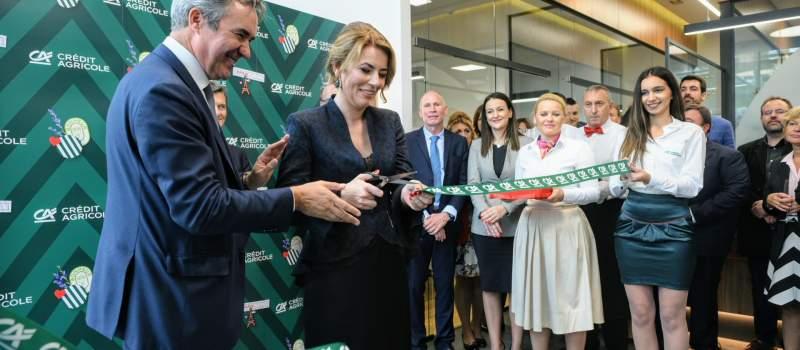 Banka Credit Agricole otvorila savremenu filijalu u Novom Sadu