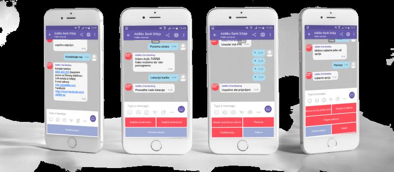 Chat Banking na Vajberu u tri koraka
