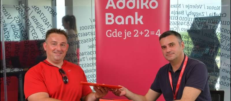 Addiko nastavlja da podržava atletičare paraolimpijce