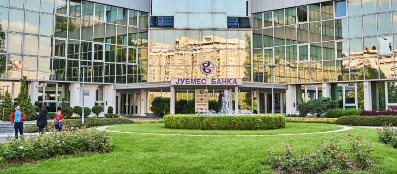 Jubmes banka ponovo najprometnija, Belex stagnirao