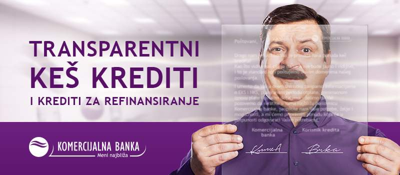 Kombank keš krediti najbrži put do gotovine