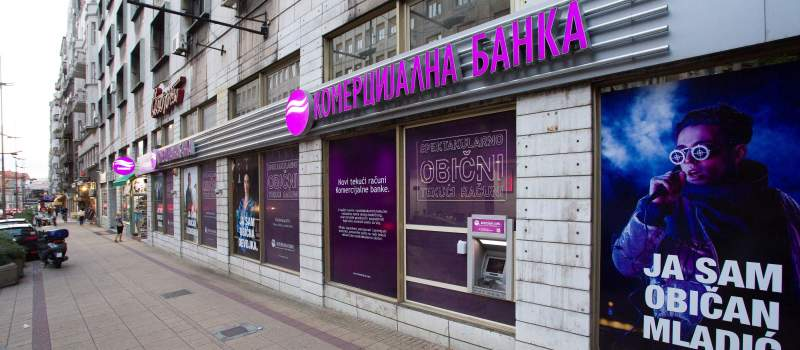 Pad profitabilnosti Komercijalne banke u trećem kvartalu
