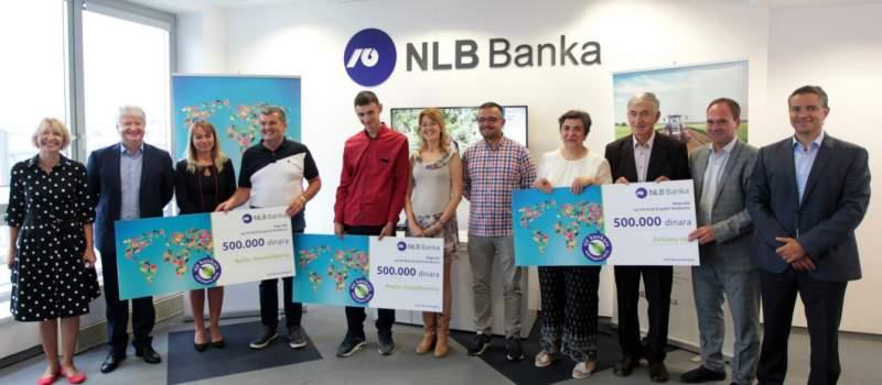 Dodela nagrada za VII NLB Organic konkursu