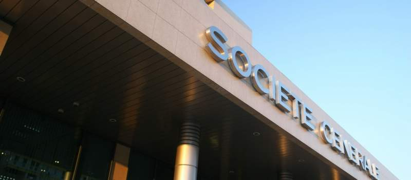 Profit banke Sosijete ženeral potonuo 86,3 odsto