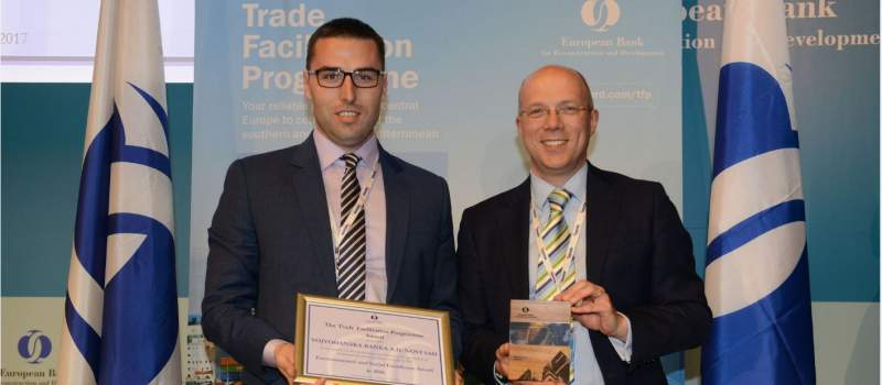 EBRD dodelila nagradu Vojvođanskoj banci