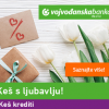 Ponuda keš kredita Vojvođanske banke Keš s ljubavlju