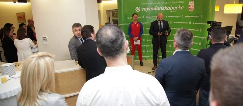 Vojvođanska banka pomaže srpskim olimpijcima