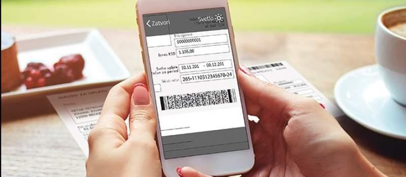 Prvi put u Srbiji mobilno plaćanje računa skeniranjem