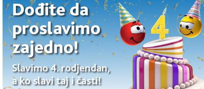 Super Kartica proslavlja četvrti rođendan