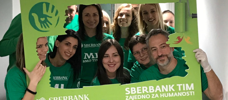 Sberbank tim – zajedno za humanost
