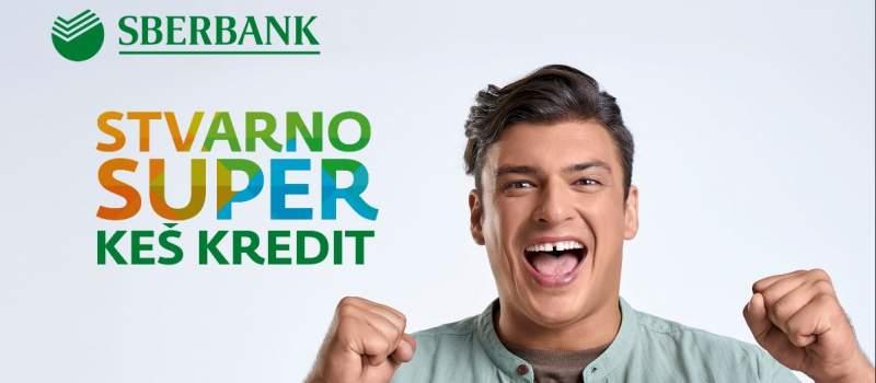 Sberbank stvarno SUPER keš kredit