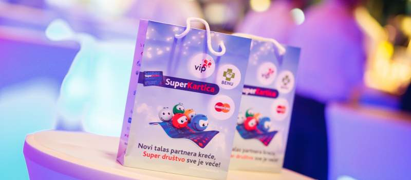 Novi partneri Super Kartice – Vip mobile i BENU Apoteke