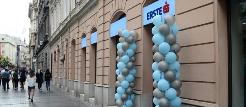 Nova filijala Erste Banke u Knez Mihailovoj