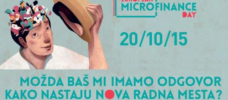 Prvi Evropski dan mikrofinansiranja