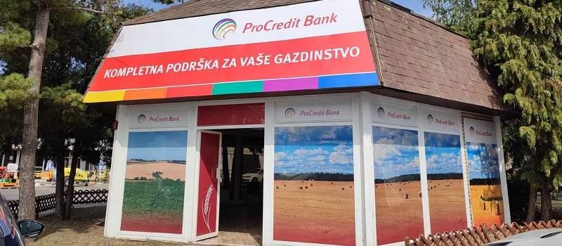 Posebna ponuda kredita za sve klijente koji kontaktiraju ProCredit banku tokom Sajma poljoprivrede