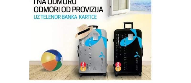 Telenor banka: plaćanje u inostranstvu bez provizije