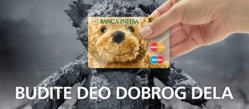 Banca Intesa i MasterCard: Budite deo dobrog dela