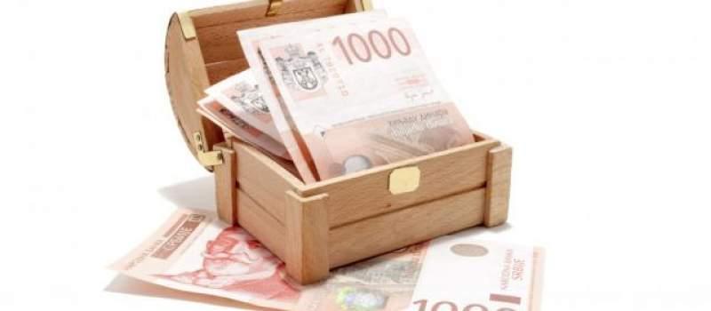 Dinar danas slabiji prema evru, kurs 123,2618
