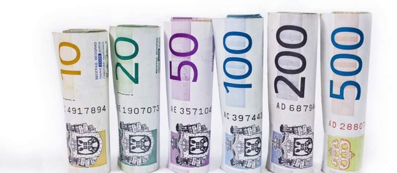 Dinar na istom odstojanju prema evru, kurs 118,1477