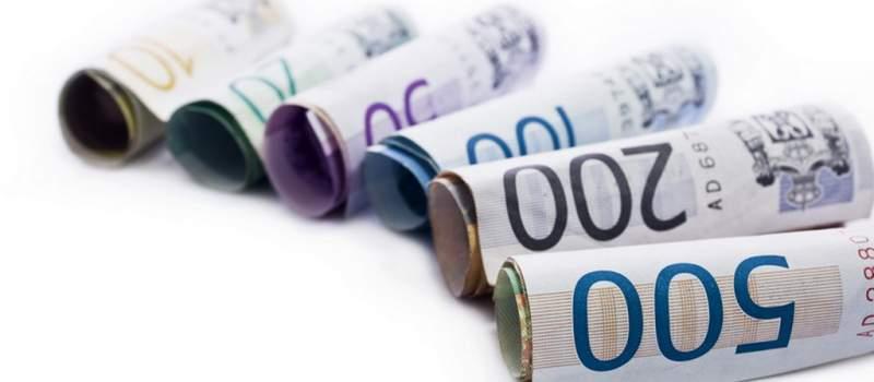 Dinar nastavio pad za 0,1 odsto, kurs 122,1355