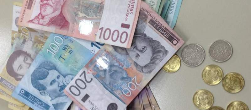Dinar stabilan, kurs 123,8924
