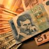 Srednji kurs dinara 123,9770