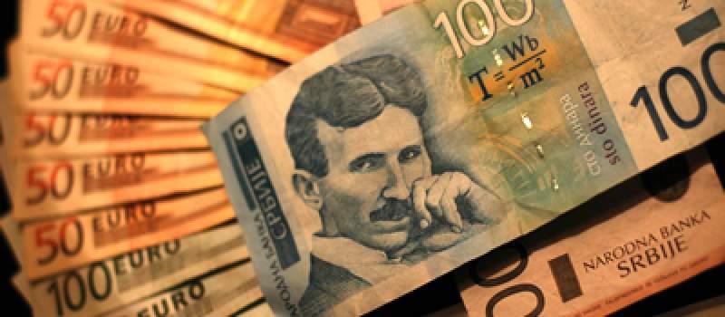 Dinar ojačao tokom vikenda, kurs 122,7355
