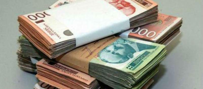 Dinar danas bez promene, kurs 123,8216