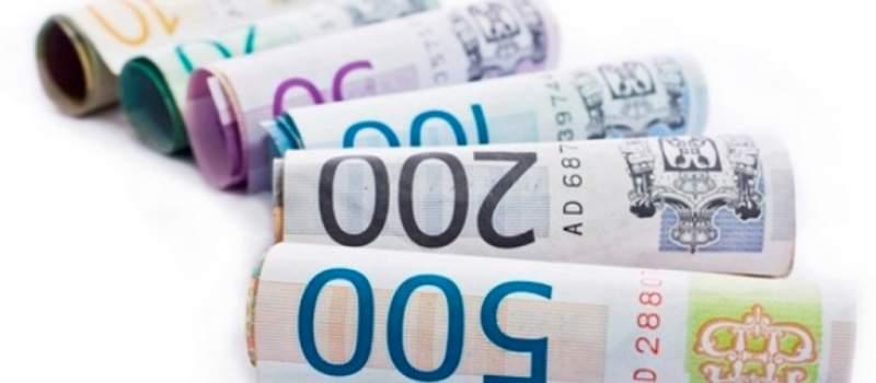 Dinar nastavlja stagnaciju, kurs 120,0144