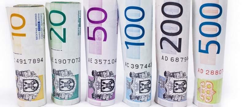 Dinar jači 0,1 odsto, kurs 120,4136