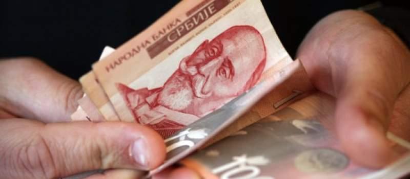 Minimalac raste najmanje tri hiljade dinara