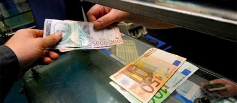 Srednji kurs 118,0166 dinara za evro