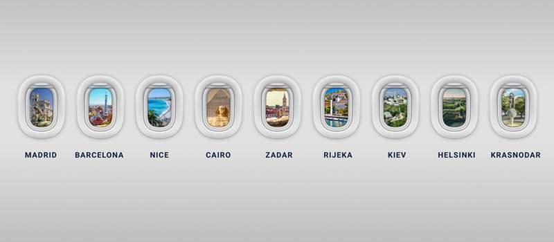 Avio-karte počev od 99 evra