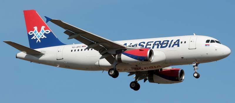 Air Serbia prešla na letnji red letenja
