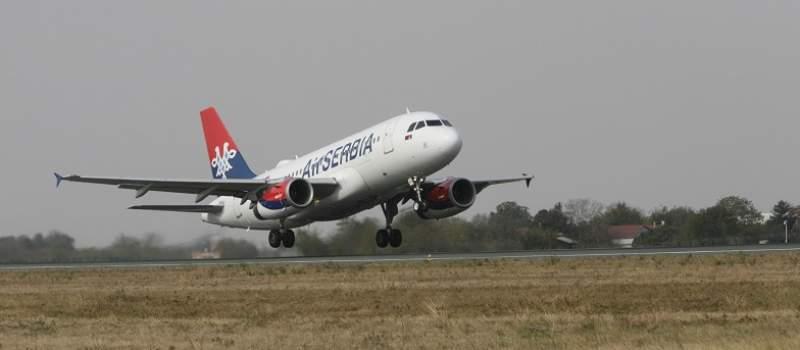 Air Serbia prešla na zimski red letenja