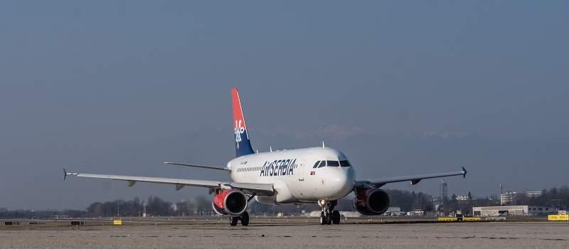 Air Srbija počela da leti za Ženevu