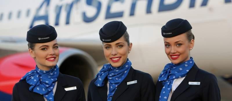 Air Srbija dobila najviše ocene od svih kompanija u regionu