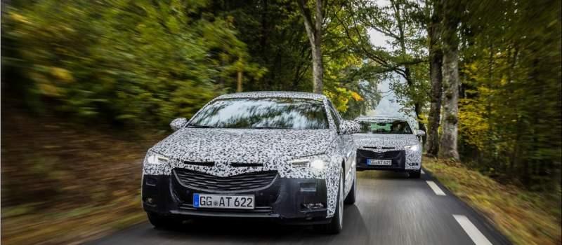 U završnoj fazi razvoja: potpuno nova Opel Insignia