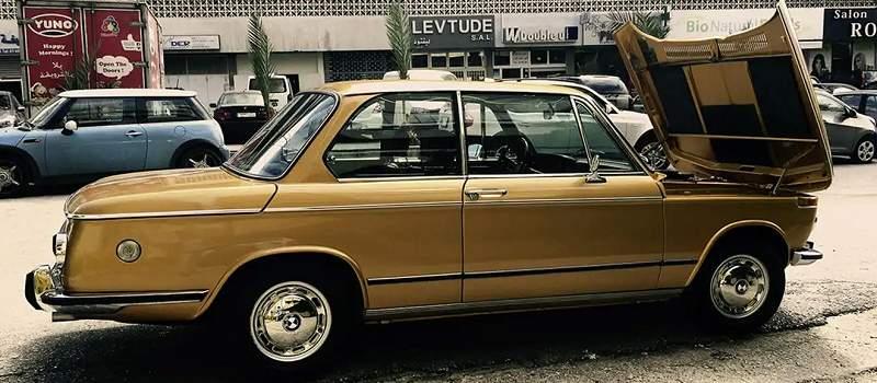 BMW 2002: Zlatna avantura od Nemačke do Bejruta i nazad