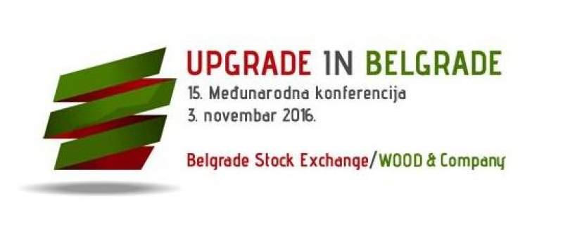 Beogradska Berza: Upgrade in Belgrade 2016.