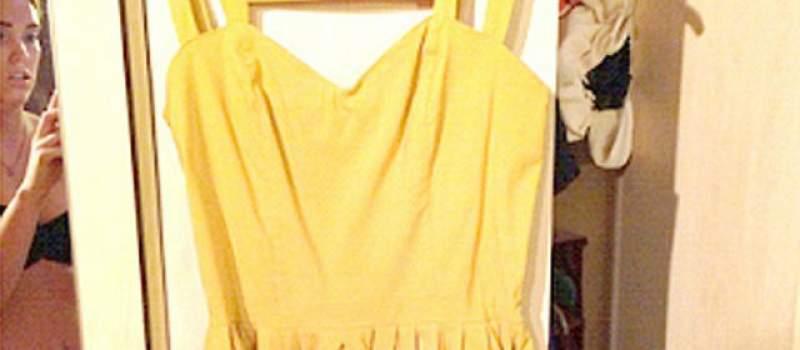 Kako skupo prodati haljinu? Skinite se (FOTO)