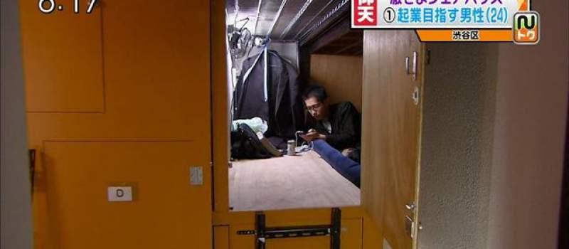 Japan: Život u dva kvadrata, cena 300 evra mesečno