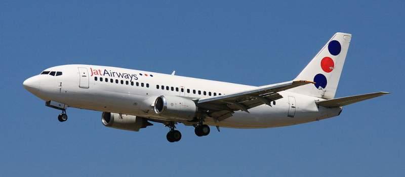 JAT: Depozit od 450.000 $ za najam dva aviona
