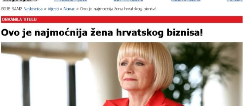 Upoznajte najmoćniju ženu hrvatskog biznisa