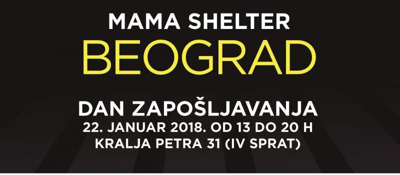 Mama Shelter Hotel Dan Zapošljavanja