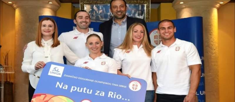 Uniqa podržava srpske olimpijce