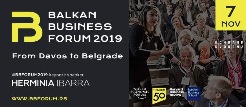 OD DAVOSA DO BEOGRADA: Balkan Biznis Forum, poslovni događaj godine!