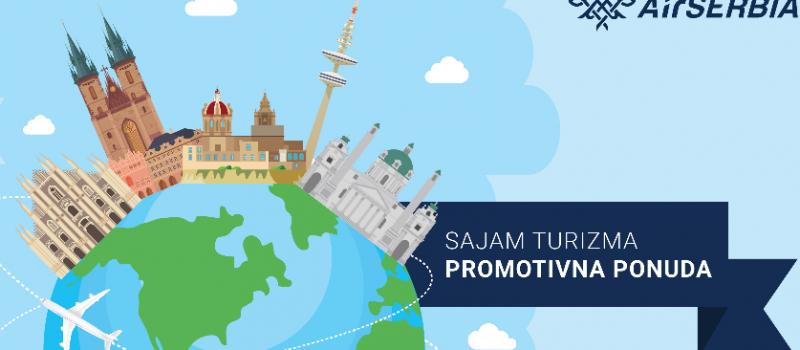Er Srbija promoviše nove destinacije