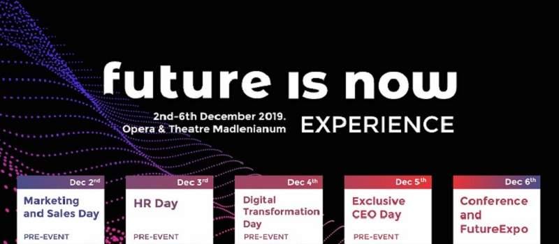 Biznis i IT događaj godine - Future is NOW 2019